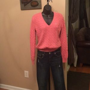 Women's Ralph Lauren Polo Cable Sweater